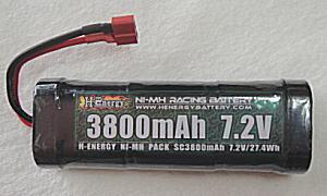 画像1: 7.2V 3800mA パックバッテリー