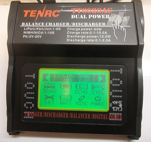 画像1: NEW TT6080AC タッチパネル充電器